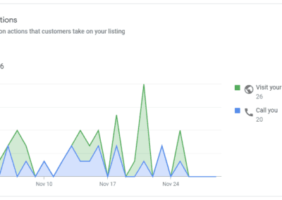 Google Insights Customer Actions
