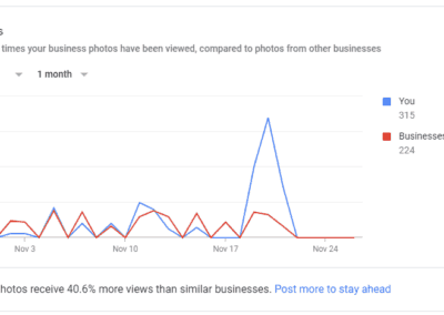 Google Insights Photo Views