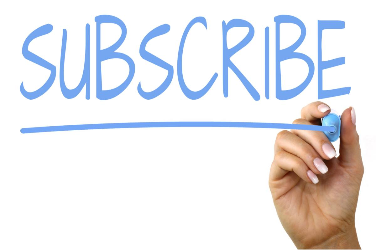 Offer subscriptions on your blog