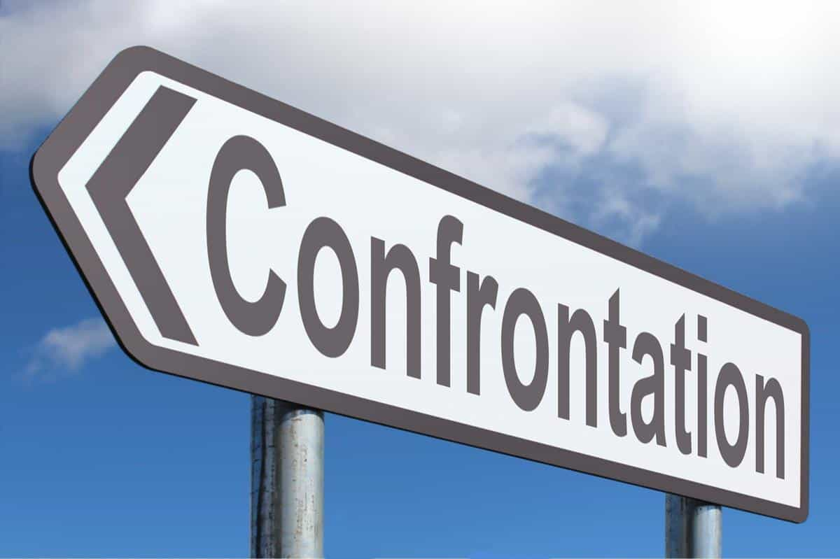 confrontation can ruin your reputation management
