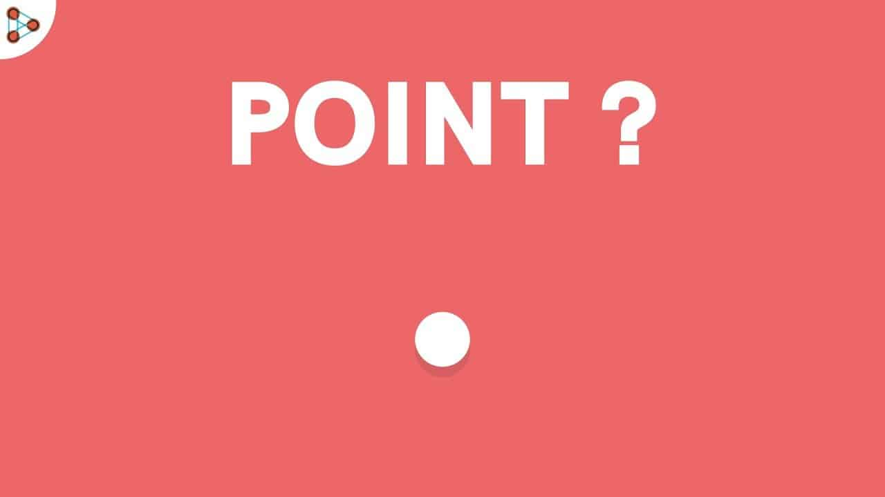 Point? The three points are first, middle and last